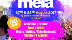 Newcastle Mela leaflet