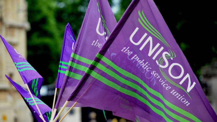 Picture of UNISON flags